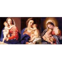 Buy cheap 30*40cm 3D Flip Poster  Of Religion Virgin Mary / Jesus 3D Lenticular Pictures For Wall Decro from wholesalers