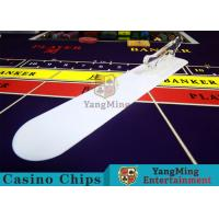 Buy cheap Card Transmission Casino Table Accessories Brand Shovel With Custom Printing Logo product