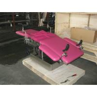 Medical Hydraulic Gynecological Chair For Women With 4 Castor