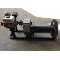 Buy cheap Cable Winch Puller 3 Ton Gas Engine Powered Cable Drum Winch for Hoisting product