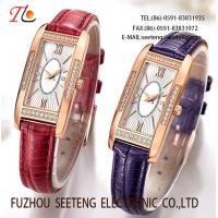 Buy cheap Rose gold plating wrist ladies' fashion watch from wholesalers