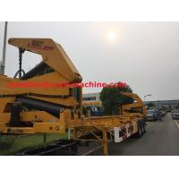 Buy cheap XCMG NEW Q345 Material Side Lifter 3 Axles Semi Trailer Truck Lift / Carry 20ft 40ft Container product