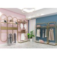 Buy cheap Women Clothing Shop Clothes Display Stand With Customized Design from wholesalers
