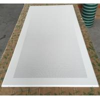 Buy cheap Perforated Aluminum / Metal Soundproof Ceiling Panels , Fire Resistant Ceiling Tiles Dia 1.8mm product