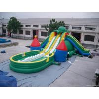 Buy cheap PVC Inflatable Turtle Water Slide For Water Park Games product
