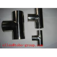 Buy cheap ASTM A815 WPS31803 reducing tee product