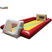 Buy cheap Inflatable Football Sports Games with durable PVC tarpaulin material for rent, re-sale use product