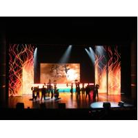 Buy cheap 1R1G1B Full Color Electronic Led Curtain Display product