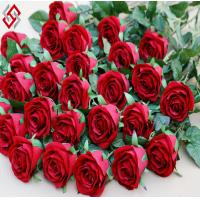 Buy cheap high quality single stem artificial silk rose product