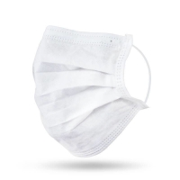 Buy cheap Internal Point Non Medical Disposable Flat 3 Ply Mouth Face Mask from wholesalers