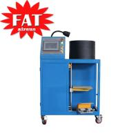 Buy cheap Gas - Filled Hydraulic Hose Crimping Machine With Rubber Steel product