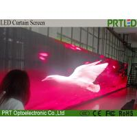 Buy cheap Advertising P12.5 Indoor LED Flexible Curtain Screen With High Light Transmittance product