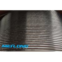 Buy cheap Bright Annealed Coiled Steel Tubing , 2507 UNS S32750 Seamless Steel Pipe product