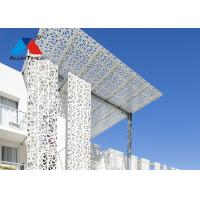Buy cheap Weather Resistant Aluminium Screen For Shopping Mall Exterior Wall Decoration product