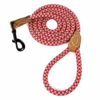 Buy cheap 4/5/6 Foot Leather Dog Leash Tailor Reinforced Rope Multicolor Available product