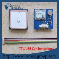 Buy cheap GPS engine board /Module with Antenna TTL G-Mouse from wholesalers