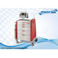 Buy cheap Defibrillator Shelf Emergency Crash Carts With CPR Boards For Hospitals product