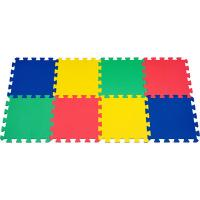 Buy cheap Non-Toxic EVA Foam Mat / Green EVA Puzzle Floor Mat For Bathroom , 10mm Portable PE Mat product