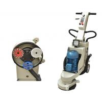Buy cheap 3 Heads Edge Concrete Terrazzo Floor Grinder 220V / 50HZ / 60HZ from wholesalers