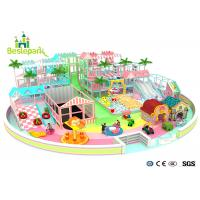 Buy cheap Macaron Theme Kids Plastic Indoor Playground With Slide Multi - Functional from wholesalers