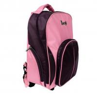 China 2014 promotional new style school bag with wheels laptop backpack  lyrics backpack lock backpack literature backpack  le on sale
