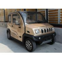 300 Kg Mini Electric Car 60V 4KW Four Wheeled With 4 Passenger Seats EU Approval