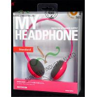 China Customized Design PET Plastic Clamshell Packaging Boxes For Headphone Electronics on sale