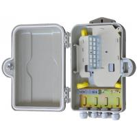 Buy cheap Outdoor Fiber Optic Distribution Cabinet  HSGFKSW-12 Insulation Resistance ≥2×10MΩ 500V product