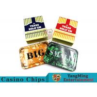Buy cheap Texas Holdem Set of 3 SmallBlind, BigBlindand DealerPokerButtons For Casino Poker Table Games product