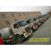 Buy cheap Durable Hino Concrete Mixer Truck Manual Transmission 12000 Kg Machine Weight product