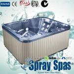 Square Acrylic Whirlpool Massage Outdoor Bathtubs E-370S 2000 * 1640 * 800mm