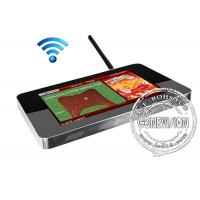 China Full Hd 22 Inch 1680 X 1050 Lcd Advertising Media Player Totem Support Avi / Mp3 / Jpg on sale