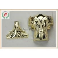 Buy cheap Gold Silver Copper PP Or ABS Plastic Casket Corner 1# Leaf Funeral Decoration product