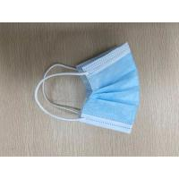 Buy cheap Non Woven Civil Earloop Face Mask 1 Ply Meltblown / 2 Ply Nonwoven Material product