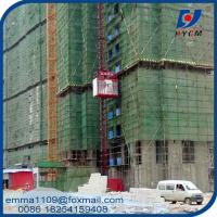 Buy cheap SC100 Single Cage Building Hoist Residential Elevator Building Material And Workers product
