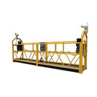 Buy cheap 208V~415V Painted / Hot Galvanized Suspended Platform Cradle ZLP800 product