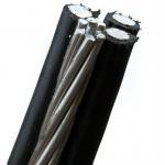 Buy cheap PE / XLPE Insulation Muti Core Aluminum Conductor Drop Wire 0.6KV / 1KV product