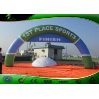 Buy cheap Commercial Inflatable Arches For Sport Standing White / Red / Blue / Green product