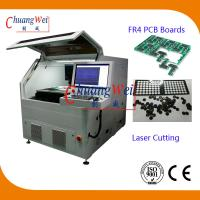 Buy cheap PCB Board Laser Cutting Machine Imported America 15W UV Laser PCB Cutting Shear from wholesalers