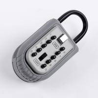 Portable Shackled Reinforced Security Key Lock Box For Outside Multi Function