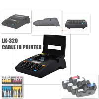 Buy cheap Mini Electronic Lettering Machine thermal transfer printing Cable ID Printer Black product
