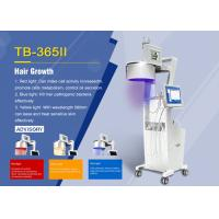 Buy cheap 650nm Diode Laser Hair Growth Machine with Hair Analyzer Stationary Style product