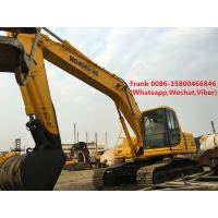 Buy cheap Manual Transmission Second Hand Komatsu Excavator 125 Kw 168 Hp Engine Power product