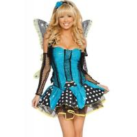 Buy cheap Blue Garden Butterfly  Halloween Adult Costumes Customized For Carnival Dance product
