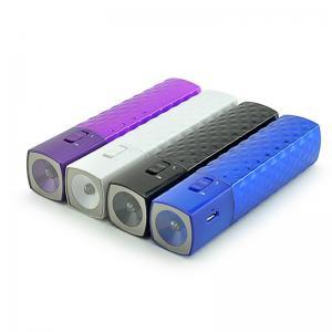 China 2000mAh LED Flashlight Slim Mascara Portable Power Bank, Mascara Phone Charger for iPhone on sale