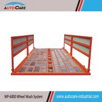 Buy cheap Automatic truck wheels washing machine/ Heavy duty container truck chassis wash systems product