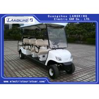 Buy cheap Eco Friendly Electric Club Car Utility Vehicle Sponge + Artificial Leather Seats product