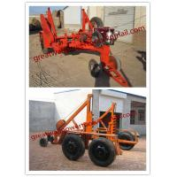 China  Asia CABLE DRUM TRAILER, Use Cable Reel Trailer  for sale