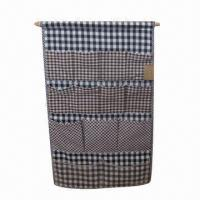 Buy cheap Hanging Closet Organizer/Bag, Made of Cotton Material, Ideal for Storage product