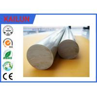 China 6063 Aluminium Round Bar Stock , OD 12 Mm Solid Aluminum Rod For Shafts / Stakes / Ornamental on sale